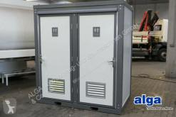 matériel de chantier nc Mobile Toilette, 2x WC-Anlagen, Handwaschbecken