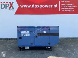 Material de obra grupo electrógeno SDMO J66 - 66 kVA Generator - DPX-17103