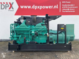 Cummins QSK60-G4 - 2.250 kVA Generator - DPX-15525 construction new generator