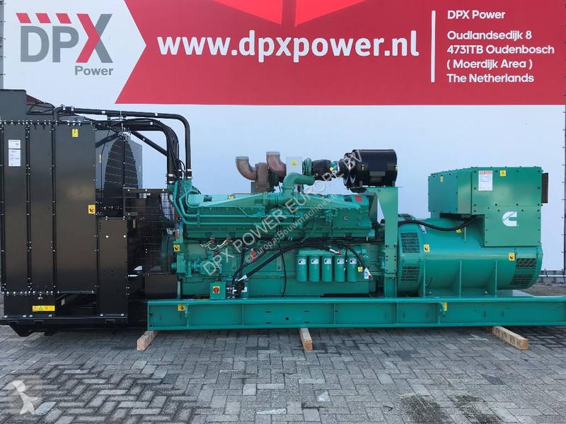 Generator Construction New Cummins C1675d5a 1 675 Kva Generator Dpx 18534 Ad N 4786436