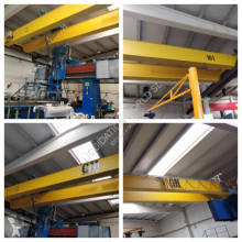 material de obra GH Double Girder Top Running Bridge Cranes