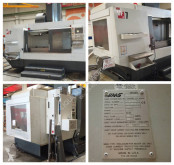 Haas VF-7/50 Vertical machining center construction