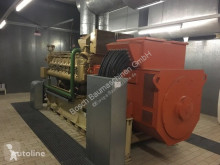 Entreprenørmaskiner MWM 2000 KVA motorgenerator brugt