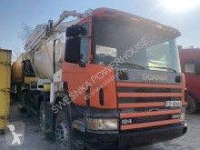 Scania SCANIA 124- 360 POMPOGRUSZKA construction used other