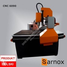 nc CNC 6090 Sarnox ploter frezujący