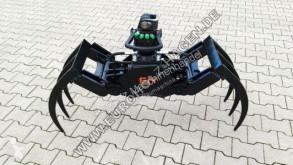 Equipamientos maquinaria OP pinza Mistgreifer mit Rotator Holzgreifer Minibagger