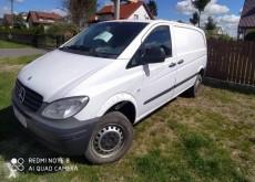 matériel de chantier Mercedes Vito 111 CDI 4x4 samochód dostawczy