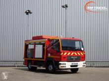 MAN LE180 C Calamiteiten truck, 18 KVA Electricity generator, Elektrizitat Generator, Elektriciteit generator LKW gebrauchter Feuerwehr