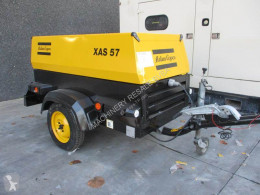 Atlas Copco XAS 57 DD construction used compressor