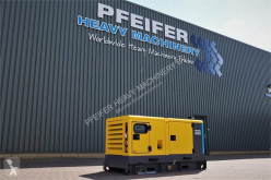 Material de obra grupo electrógeno Atlas Copco QAS 40 ST3 Diesel, 40 kVA, Also Available For Rent