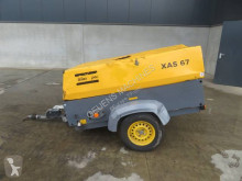 Atlas Copco XAS 67 construction