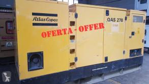 Vägbyggmaterial Atlas QAS 278 - 275 KVA generatorenhet begagnad
