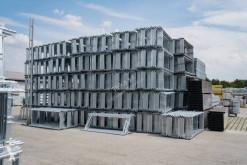 Material de obra andamio 1000m2 STILLAS LEŠENIE SKELE telkaSA ЛЕСА SCAFFOLDING