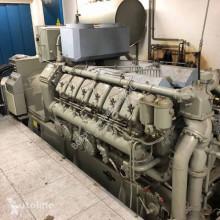 Entreprenørmaskiner MWM 1000 kVA motorgenerator brugt