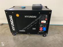 Hyundai Aggregaat / Generator, 8 KVA, 230 + 400 volt construction used generator