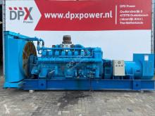 Mitsubishi S16NPTA - 1.000 kVA Generator - DPX-12321 construction used generator