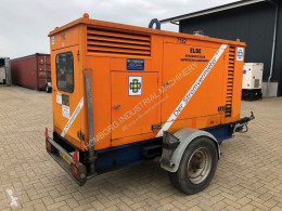 Material de obra grupo electrógeno Iveco 8061 Leroy Somer 60 kVA Supersilent mobiele generatorset