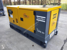 Atlas Copco QAS 30 construction used generator