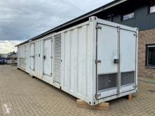 MTU 12V 4000 Leroy Somer SDMO 1550 kVA Supersilent generatorset in container construction used generator