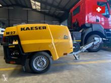 Material de obra Kaeser kompressor mobilair m27 usado