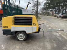 Kaeser compressor construction M43 - ! 357h ONLY ! - MOBIELE COMPRESSOR - 7 BAR - Kubota V 1505-T Diesel - Debiet: 4,2 m³/min - 2x G ¾ PERSLUCHT