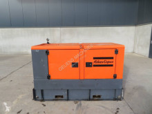 Atlas Copco QAS 40 construction used generator