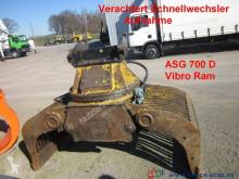 Equipamientos maquinaria OP pinza Caterpillar Vibro Ram ASG 700 D Sortiergreifer Verachtert CW