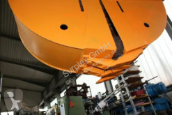 Excavator hydraulic grapple used bucket