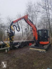 Matériel de chantier Kubota U55-4 Harwester trzebieżowy z głowicą Arbro 400s autres matériels occasion