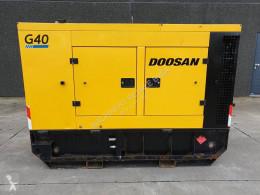 آلة لمواقع البناء Doosan G 40 مجموعة مولدة للكهرباء مستعمل