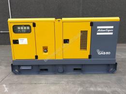 Material de obra grupo electrógeno Atlas Copco QAS 80