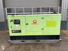 Pramac GSW 110 DIESEL STATIONARY GENERATOR construction used generator