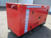 Entreprenørmaskiner Becker Generator BDG 50S , 50KVA , 4 Cylinder turbo diesel , 3 phases motorgenerator brugt