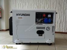 Stavební vybavení Hyundai Generator + 5,3 kW + 10 pk + 50 Hz + 230V/380V + silent 72dBA elektrický agregát použitý