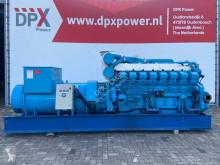 آلة لمواقع البناء مجموعة مولدة للكهرباء Mitsubishi S16R PTA - 1.500 kVA Generator Set - DPX-12427