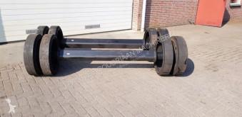 repuestos nc Essieu moteur Zware as met dubbelmontage wiel massief pour presse à balles