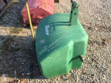Pièces détachées nc Frontgewicht 900 kg JD grün lackiert