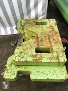 Claas XERION Typ 781 Gewicht Ballastierung 2,4t Pièces tracteur occasion