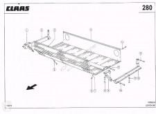 Ricambio Claas Ersatzteile für Lexion 580 usato