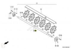 Yedek parçalar Claas Wendetrommelwelle für Lexion 440 bis 670