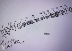 Части за трактори Claas Felga Dw16x30 , felga claas fendt 16x30