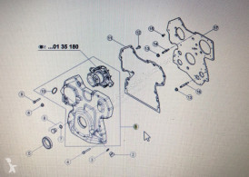 Pièces détachées New Holland Ford New Holland 8730 - Blok Cylindrów Ford fonn-6015-da occasion