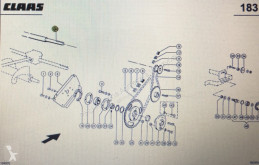 Pièces détachées Claas Wałek podajnika zbożowego Claas Mega 370-340 Nr katalogowy 000 543 221 0 occasion