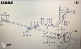 Repuestos Claas Koło pasowe Class Mega 370-340 Nr katalogowy 000 628 739 1 usado