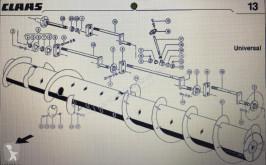 Części zamienne Claas CLAAS 000 767 534 0/ CLAAS V 900-V700 bęben wciągający,ślimak,żmijka,p do hederu używana