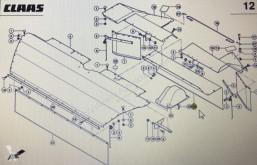 Náhradné diely John Deere CLAAS 00 0922 381 2/CLAAS Corto fartuch ochronny tylny środkowy ojazdený