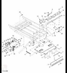 Repuestos John Deere AH201863 John Deere 9880i STS - Wzmocnienie usado