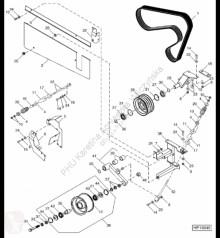 Części zamienne John Deere H228575 John Deere 9880i STS - Podkładka dystansowa używana