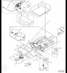 Repuestos John Deere AH202988 John Deere 9880i STS - Zestaw rolek nośnych fotela usado