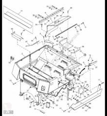 Náhradné diely John Deere H203693 John Deere 9880i STS - Płytka ojazdený